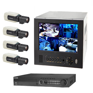 Security System M-04 (4 Channel) For 4 Cameras